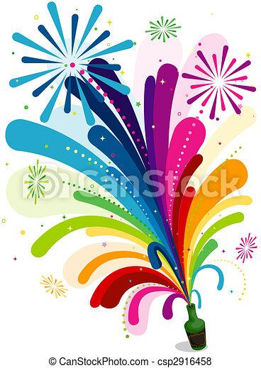 Fireworks Clipart Images, Stock Photos & Vectors | Shutterstock