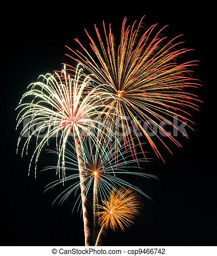 Fireworks - csp9466742