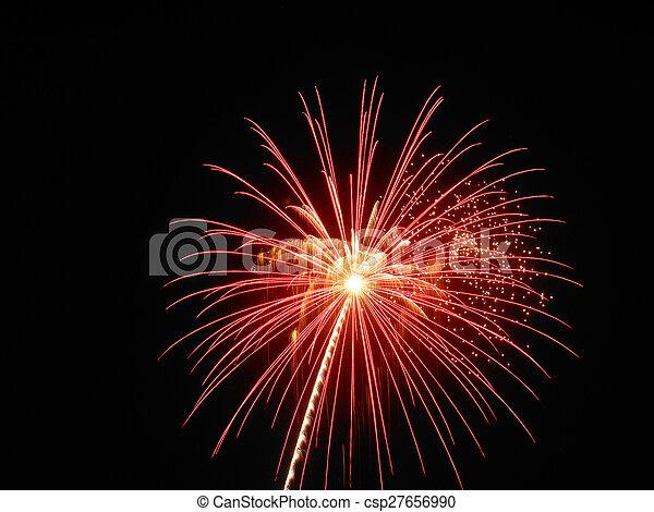 Fireworks - csp27656990