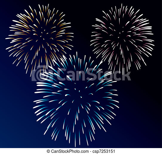 fireworks - csp7253151