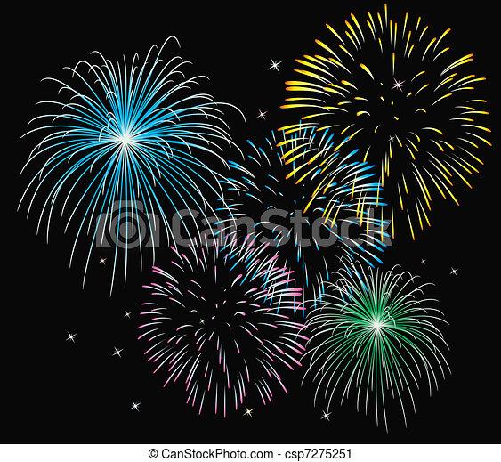 fireworks - csp7275251