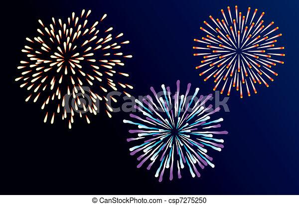 fireworks - csp7275250
