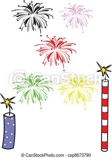 fireworks - csp8673790
