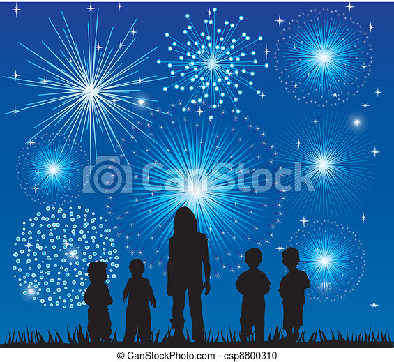 fireworks - csp8800310