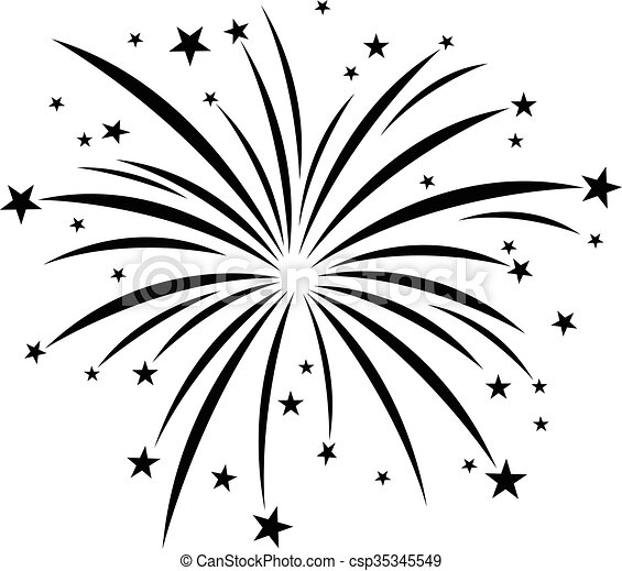 fireworks vector icon rh canstockphoto com fireworks vector art fireworks vector free download