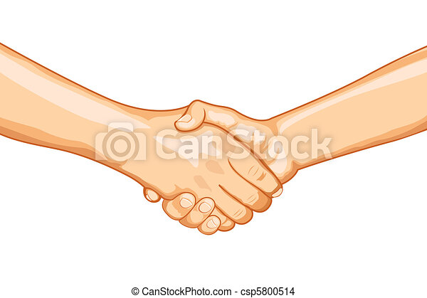 Firm Handshake - csp5800514
