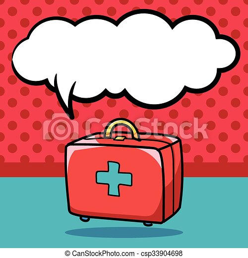 first aid kit doodle eps vectors search clip art illustration rh canstockphoto ca first aid kid clipart first aid clip art free