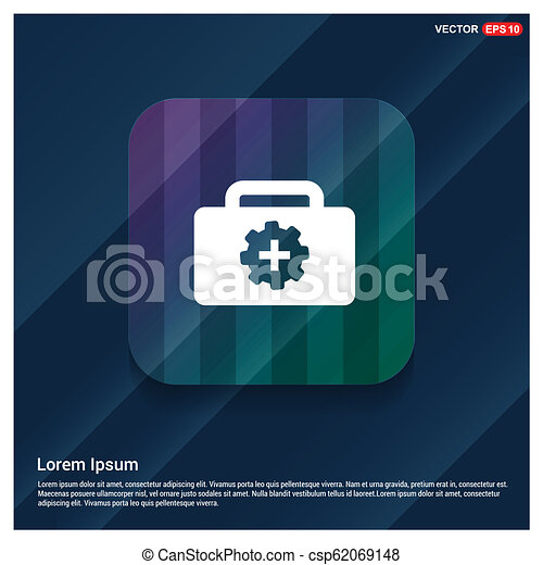 First aid kit icon - csp62069148