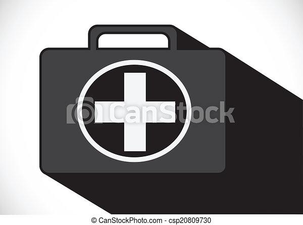 First aid kit icon - csp20809730