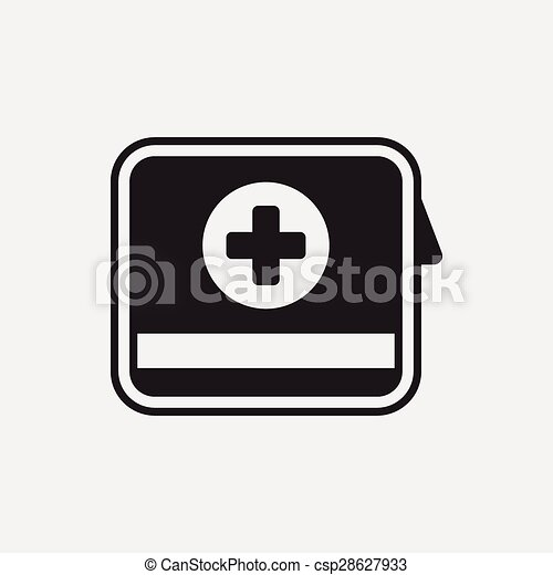 First aid kit icon - csp28627933