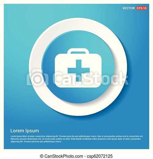 First aid kit icon - csp62072125