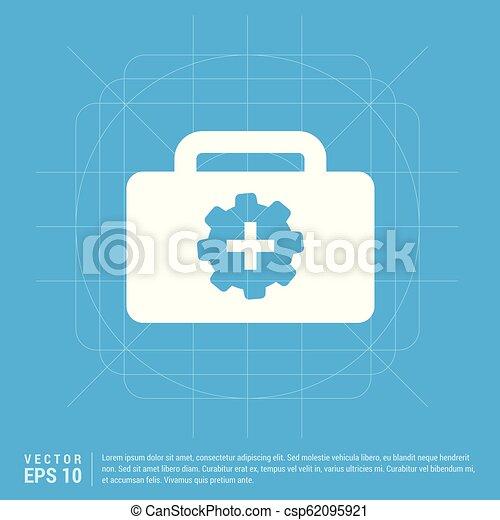 First aid kit icon - csp62095921