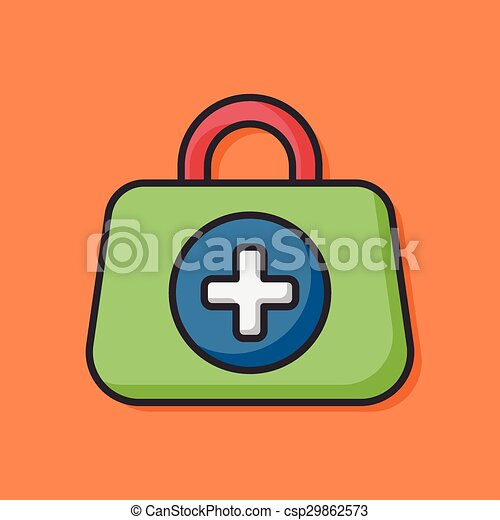 First aid kit icon - csp29862573