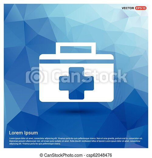 First aid kit icon - csp62048476