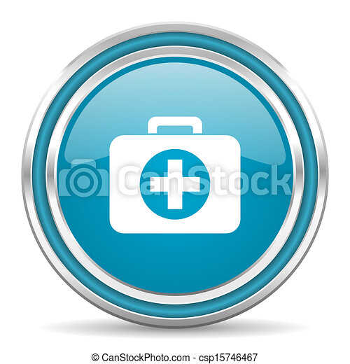 first aid kit icon - csp15746467