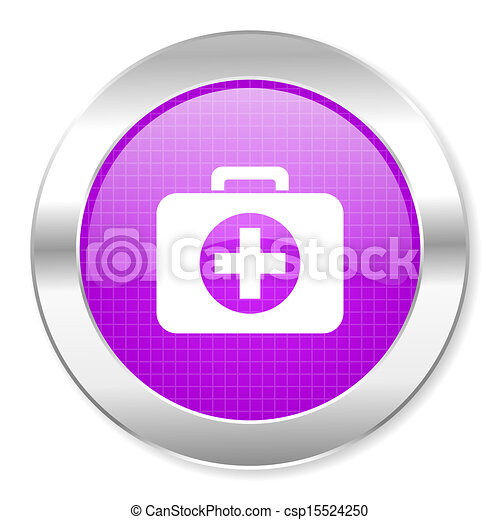 first aid kit icon - csp15524250