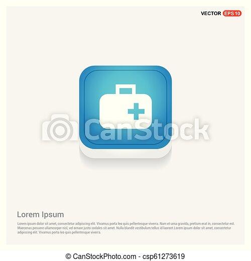 First aid kit icon - csp61273619
