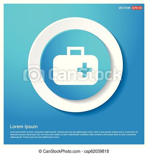 First aid kit icon - csp62039818