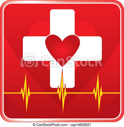 First Aid Medical Health Symbol - csp14639221