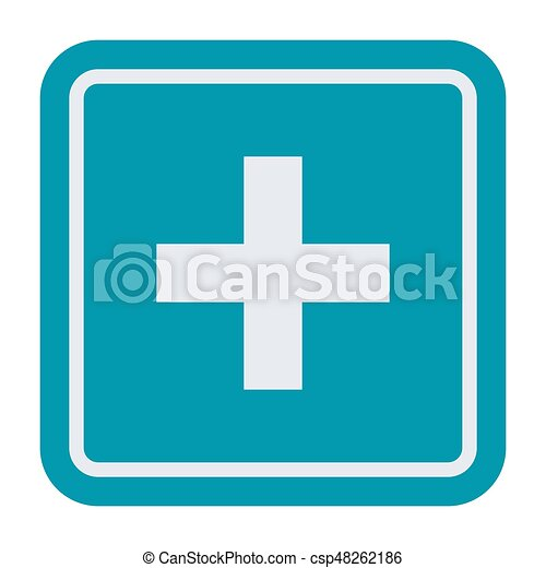 First Aid Medical Sign First Aid Symbol Vector Icon In Flat Style