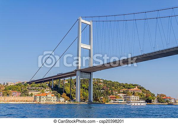 First Bosphorus bridge - csp20398201
