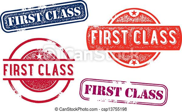 First Class Rubber Stamp Imprints