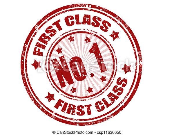 First class stamp