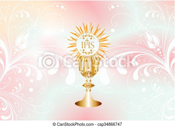 first communion,  - csp34866747