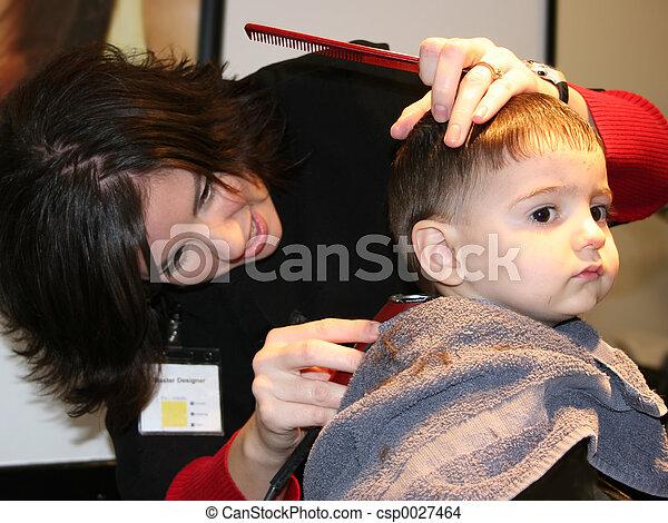 First Hair Cut 02 - csp0027464