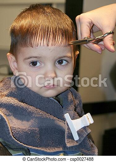 First Hair Cut 03 - csp0027488