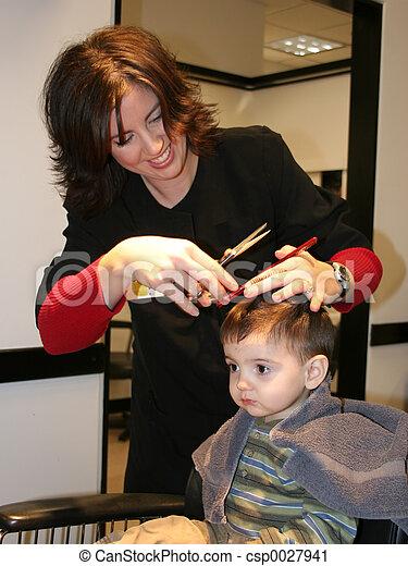 First Hair Cut 05 - csp0027941