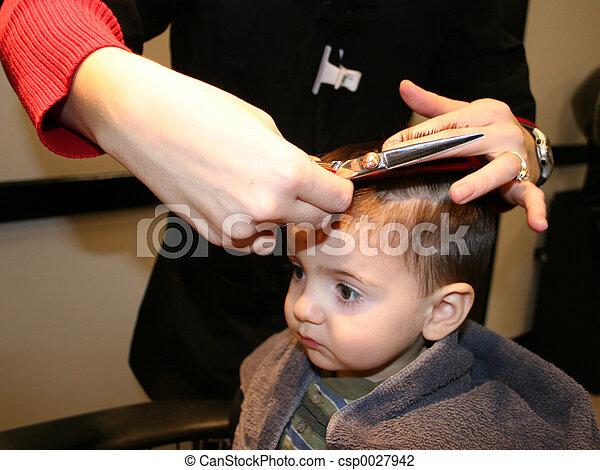 First Hair Cut - csp0027942