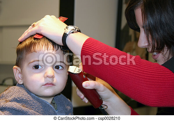 First Hair Cut - csp0028210
