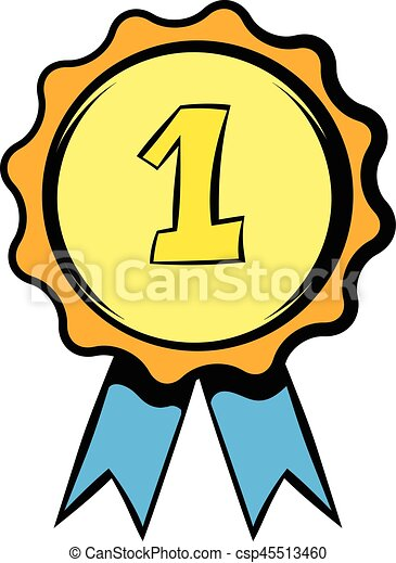 first place rosette icon icon cartoon first place rosette clip rh canstockphoto co uk first place trophy clipart first place rosette clipart