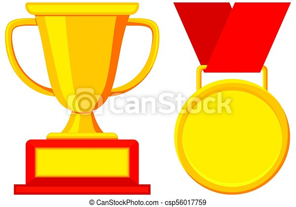 first place winner award cup medal icon set first plase clipart rh canstockphoto com first place clipart free first place clipart free