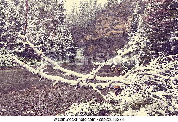 First snow - csp22812274