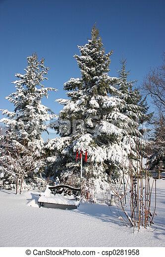 First Snow - csp0281958