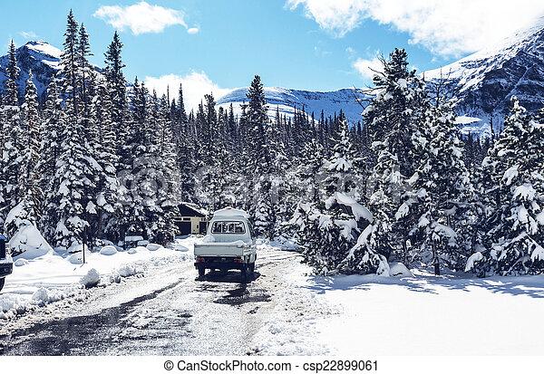 First snow - csp22899061
