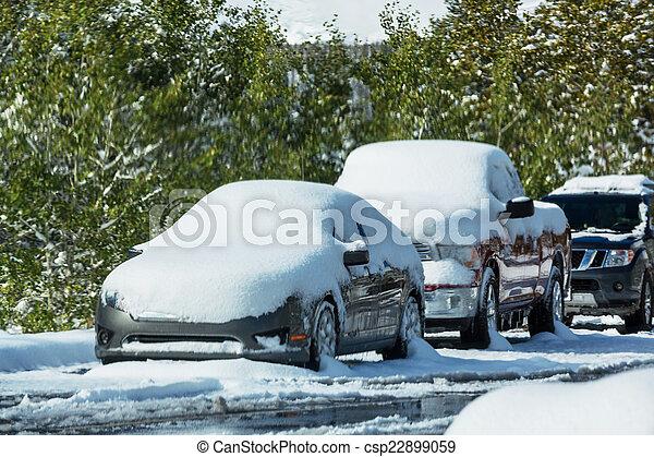 First snow - csp22899059