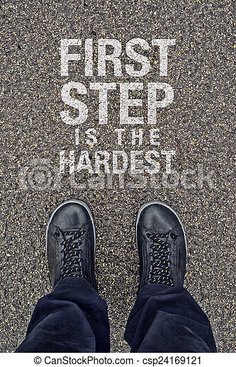 First Step is the Hardest - csp24169121