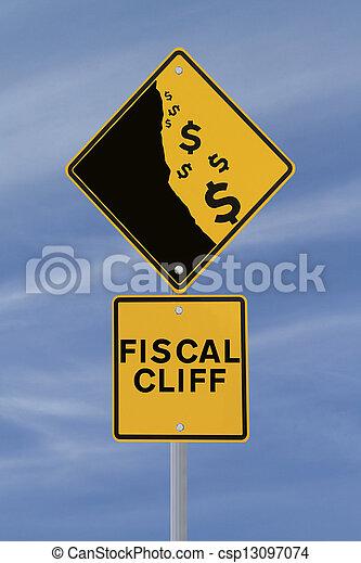 Fiscal Cliff  - csp13097074