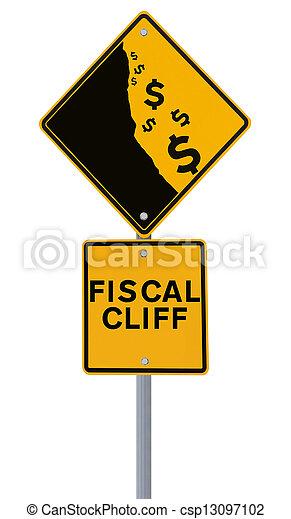 Fiscal Cliff  - csp13097102