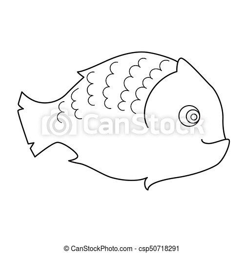 Fische, färbung, seite, kinder EPS Vektoren - Suche Clipart ...