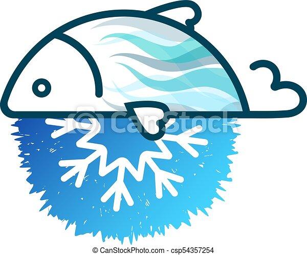 fish frozen fresh symbol for business clipart vector search rh canstockphoto com Wine Clip Art Beans Clip Art