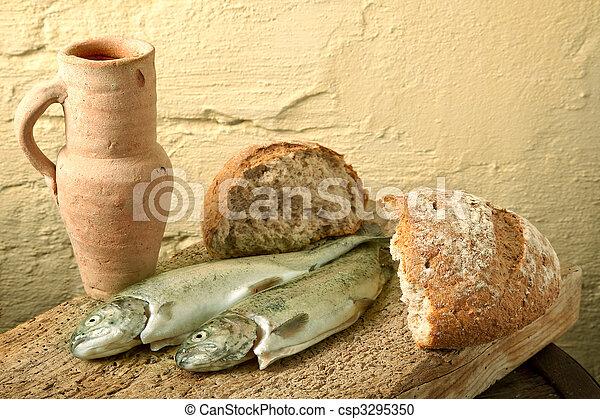 fish, galilee - csp3295350