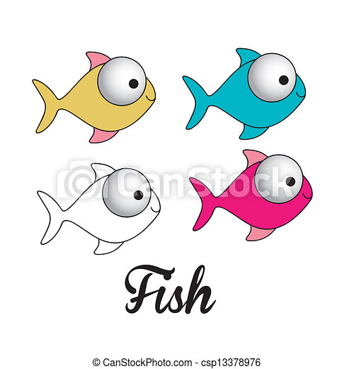 fish illustration - csp13378976