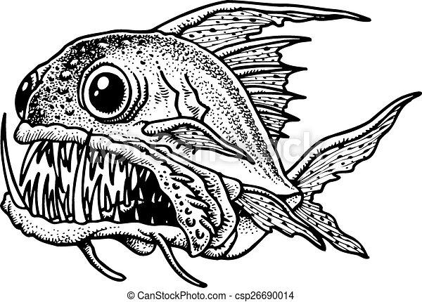fish, piranha - csp26690014