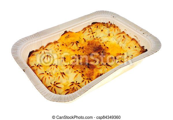 fish, repas, bon marché, tarte, commodité - csp84349360