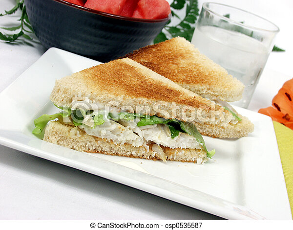 Fish sandwich - csp0535587