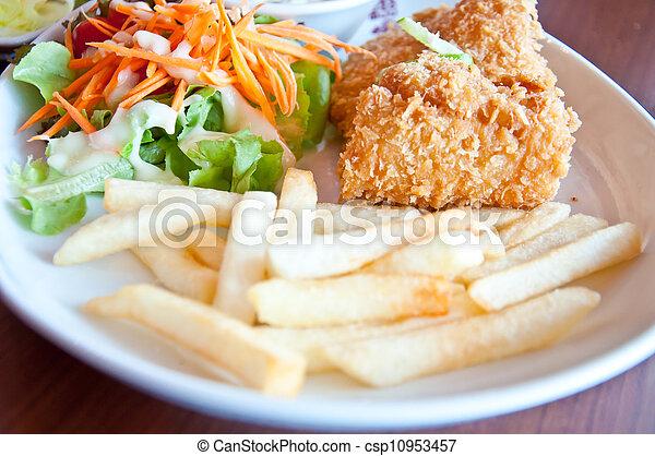 Fish steak - csp10953457